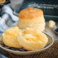 Homemade Cream Biscuits