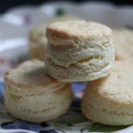 Whole Wheat Cream Biscuits