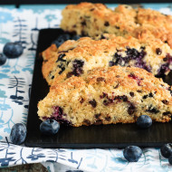 Blueberry Chocolate Chip Scones