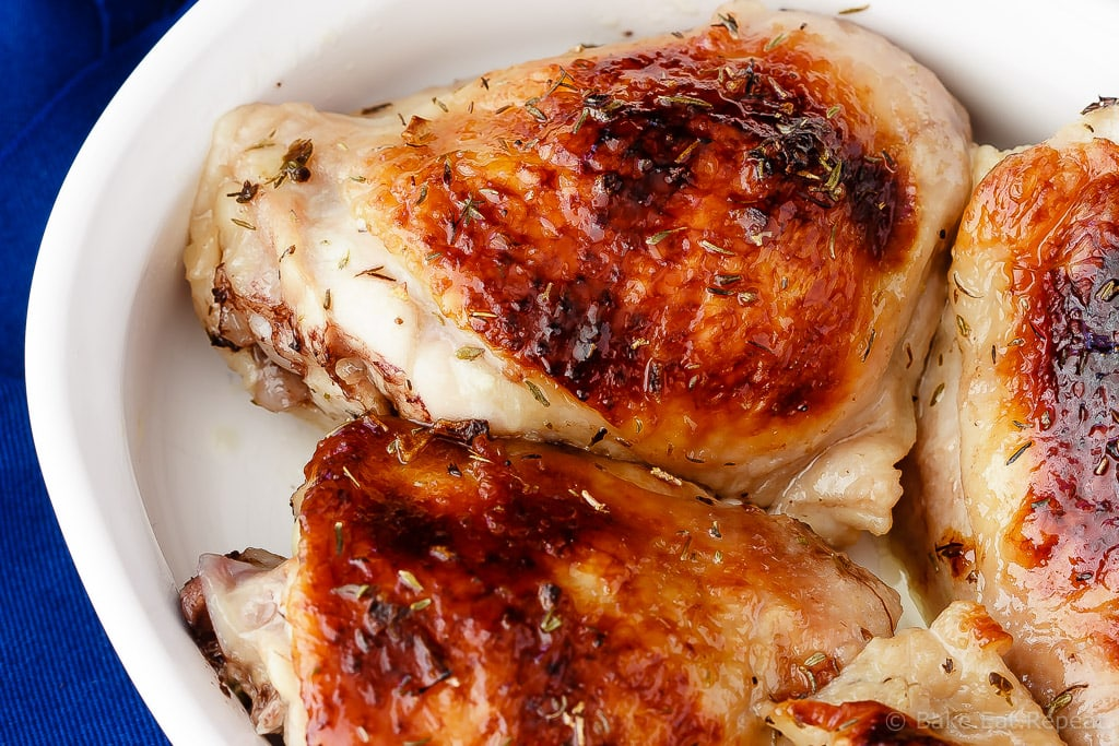 Honey Lime Chicken - Roasted honey lime chicken that is tender and juicy and a hit with the whole family. Only 10 minutes of prep time to perfect roasted chicken!