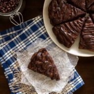 Double Chocolate Scones