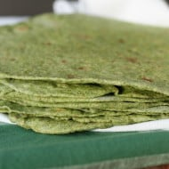 Spinach Tortillas