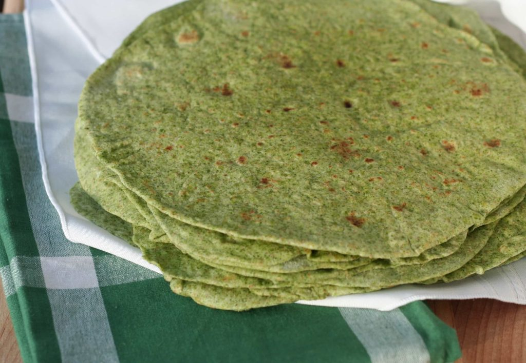 Spinach Tortillas - Bake.Eat.Repeat.