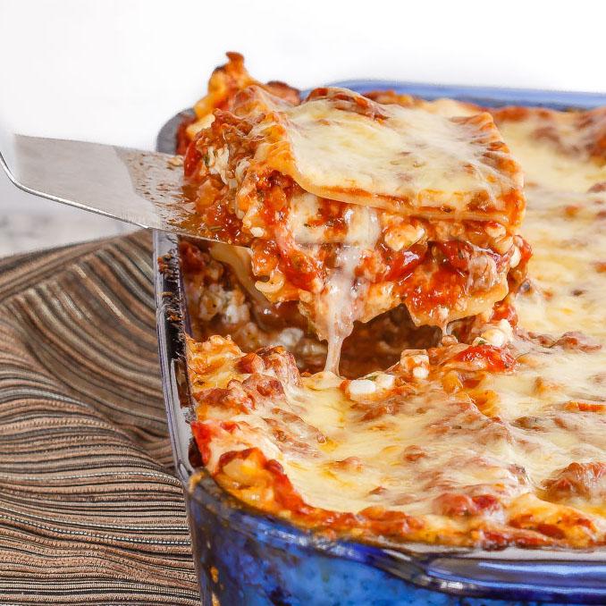 Lasagna Bake Eat Repeat