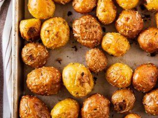 Roasted Baby Potatoes