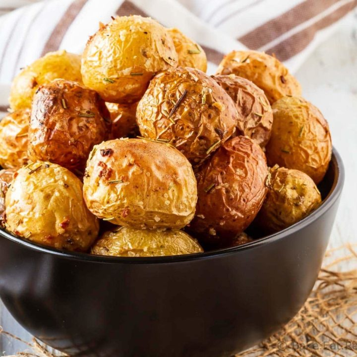 Roasted Baby Potatoes with Rosemary