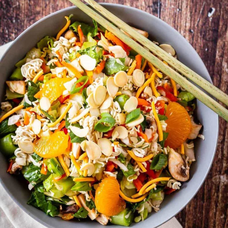 Easy to make Asian chopped salad