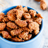 Cinnamon Sugar Almonds + Video