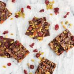 Cranberry, Pumpkin Seed and Salted Caramel Bark