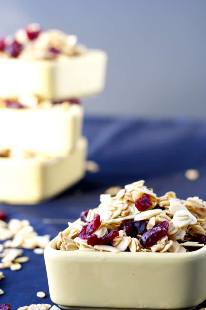 Cranberry, Almond and Orange Granola - Bake.Eat.Repeat.