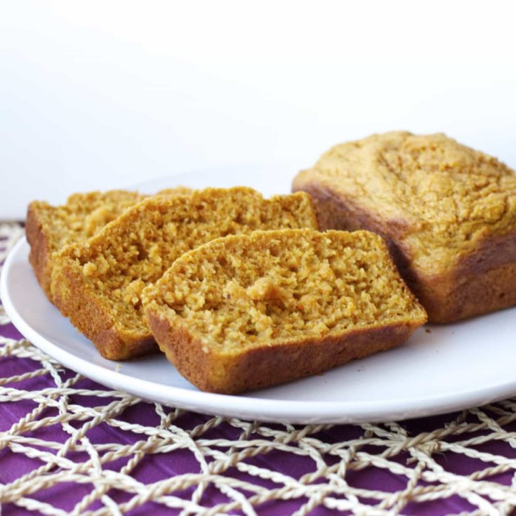 Carrot and Pear Mini Loaves