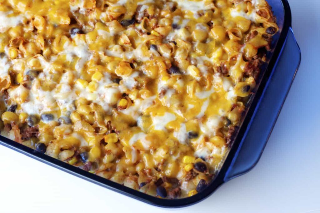 Mexican Baked Pasta - Bake.Eat.Repeat.