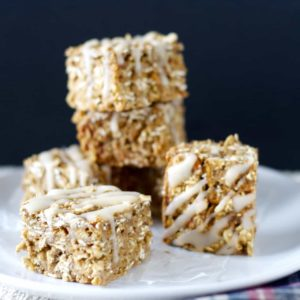 Apple Oatmeal Squares