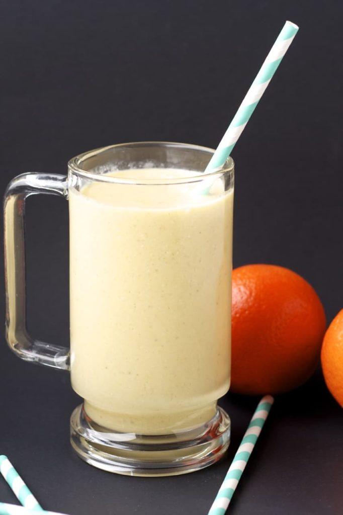Orange Oatmeal Smoothie
