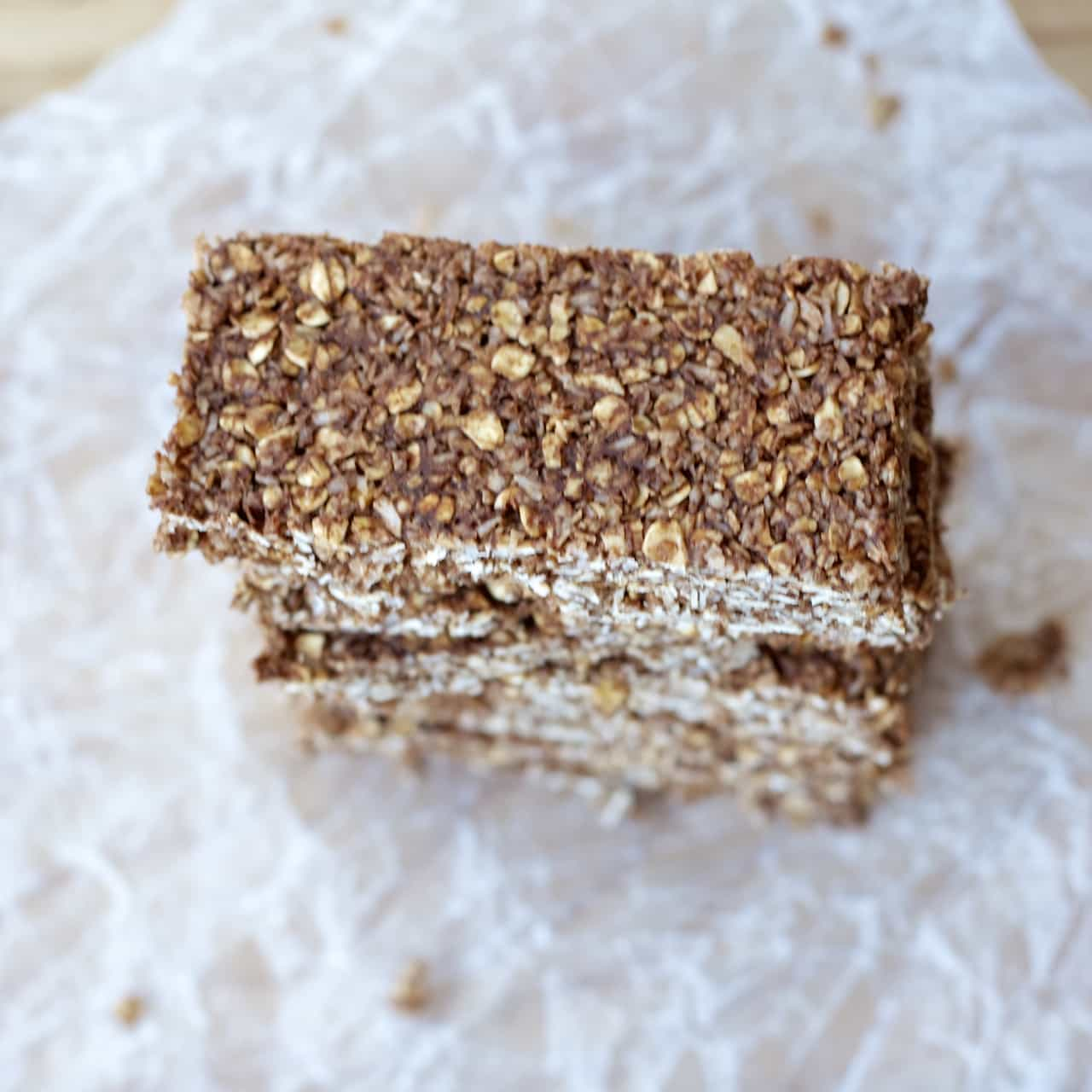Image Result For How To Make Chocolate Granola With Coconut And Almonds