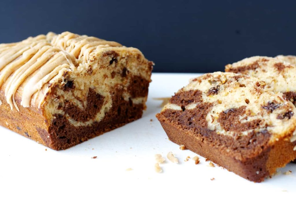 Marbled Chocolate Grapefruit Bread