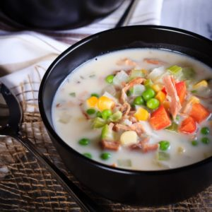 Creamy Ham and Corn Chowder