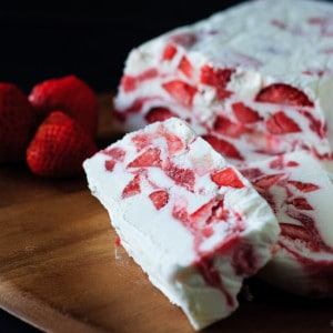Strawberry Yogurt Terrine