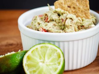 A quick and easy lunch or snack, this avocado tuna salad is healthy, easy, and absolutely amazing!