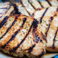 Honey Lime Grilled Pork Chops