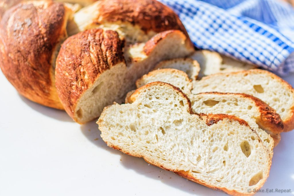 "Cinnamon Challah - Easy to make, and absolutely perfect for French toast, this cinnamon challah bread is on the ""make often"" list at my house now!"