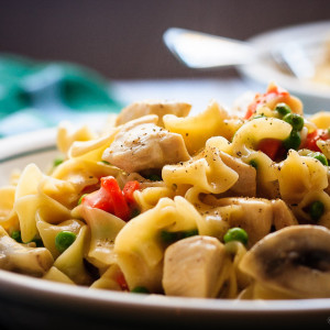 Hazelnut Chicken One Pot Pasta