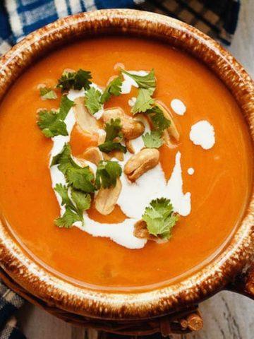 Slow Cooker Thai Pumpkin Soup