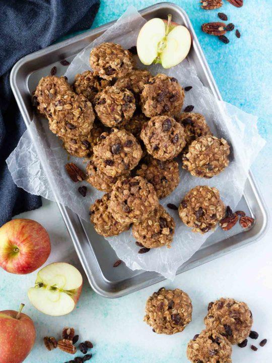Apple Oatmeal Breakfast Cookies