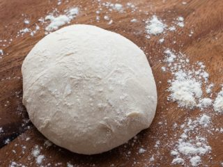 Perfect Thin Crust Pizza Dough - The best pizza dough. Cold rise, thin crust, crispy, perfect pizza. You will never need another pizza dough recipe.