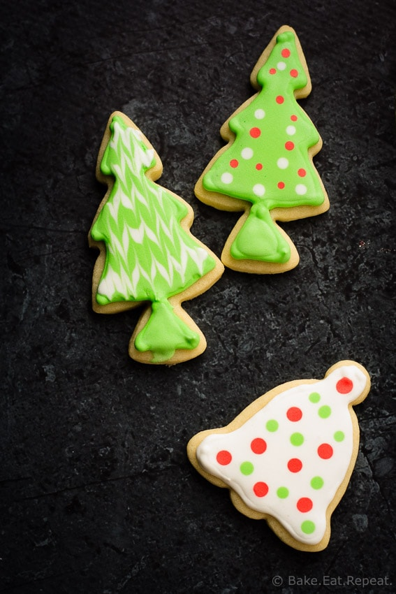 Sugar Cookies - The best sugar cookies for making Christmas cut-outs. Soft, sweet, and easy to make!