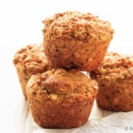 Healthy Carrot Zucchini Muffins