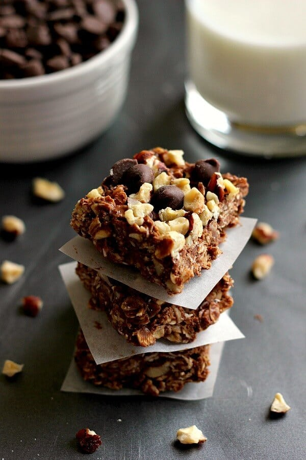 coconut-oil-chocolate-chip-granola-squares Pumpkin 'n spice