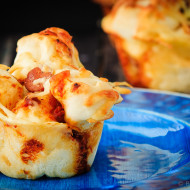Pull Apart Pizza Muffins