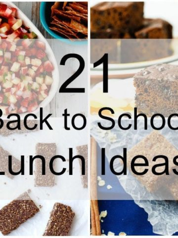 21 Back to School Lunch Ideas
