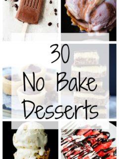 30 No Bake Desserts - Bake.Eat.Repeat.