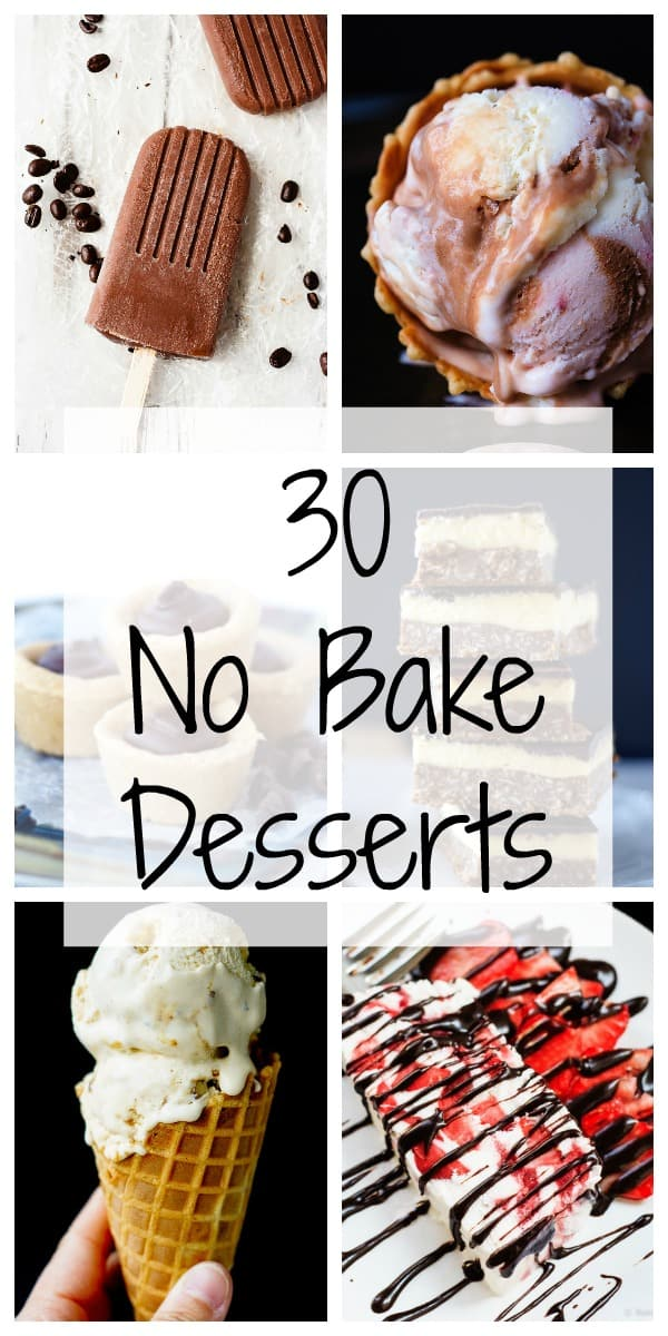 30 No Bake Desserts - Bake.Eat.Repeat.