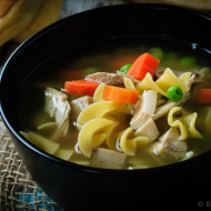 30 Minute Chicken Noodle Soup