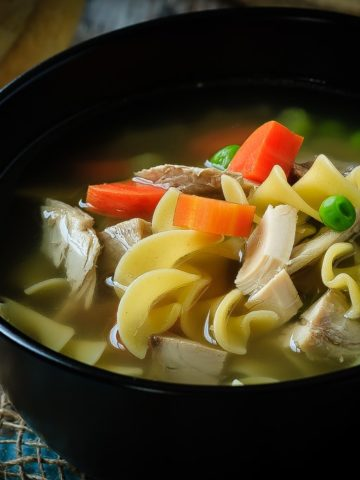 30 Minute Chicken Noodle Soup