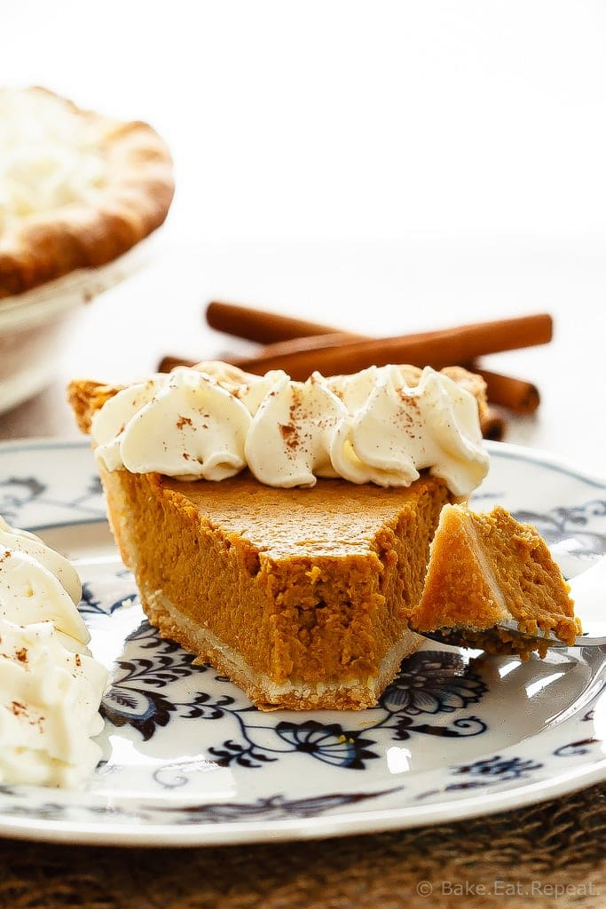 This pumpkin pie is my Grandma's recipe - it's so much better then the store-bought pumpkin pie.  If you've never made homemade pumpkin pie, try it today!