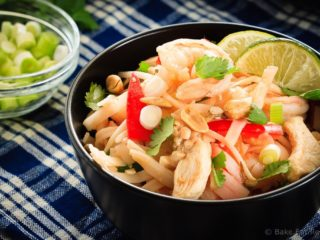 30 Minute Pad Thai - Skip the takeout and make your Pad Thai at home instead! Super easy to make and it's on the table in 30 minutes!