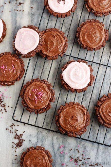 Chocolate Swig Sugar Cookies
