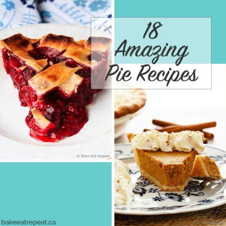 18 Amazing Pie Recipes