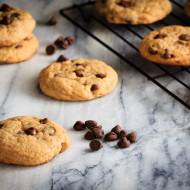 Chewy Chocolate Chip Banana Cookies