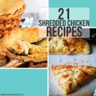 21 Shredded Chicken Recipes