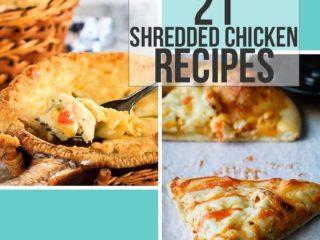 21 Shredded Chicken Recipes