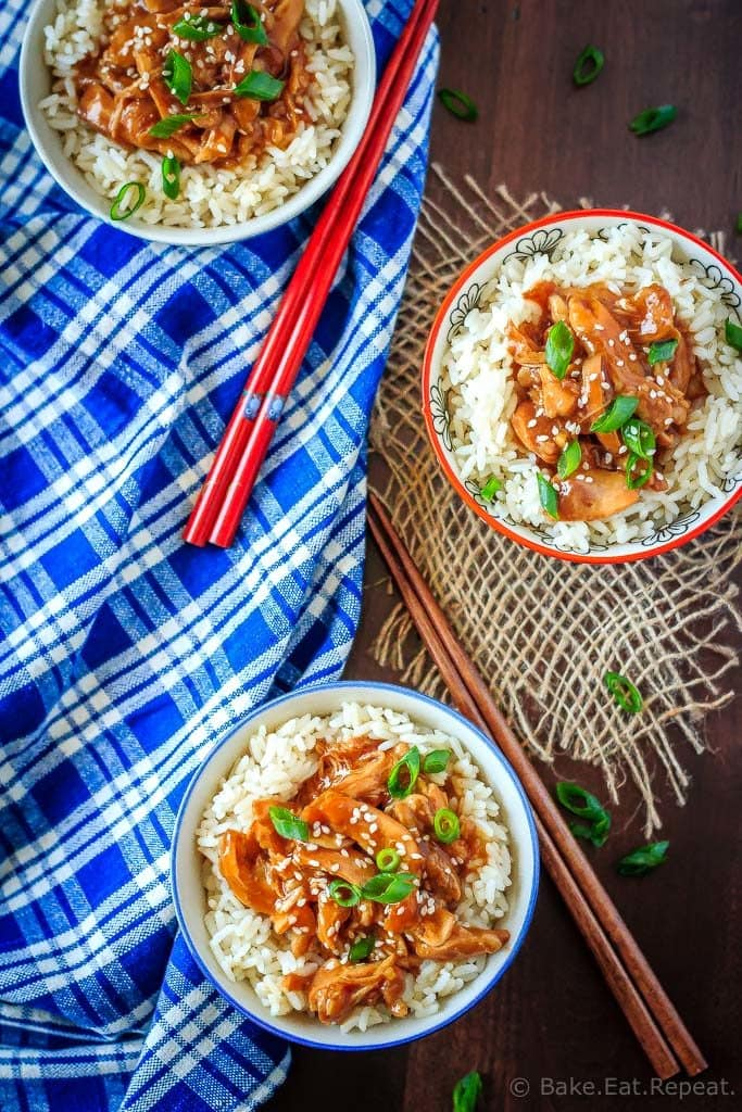 This slow cooker teriyaki chicken is a quick and easy meal that takes just minutes to get into the slow cooker. Perfect meal for those busy weeknights!