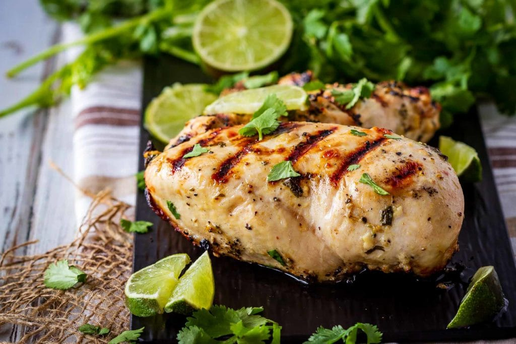 This cilantro lime chicken marinade is easy to mix up and add so much flavour to your chicken. Marinade and then grill or bake, or freeze for later!