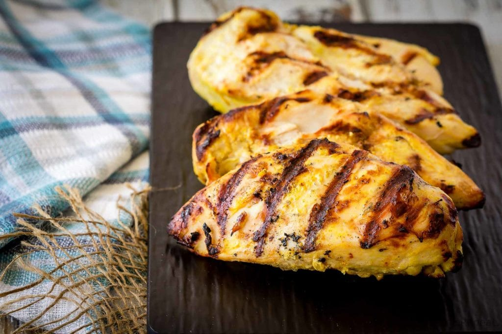 This tandoori chicken marinade is easy to mix up and adds so much flavour to your chicken. Marinade and then grill or bake, or freeze for later!
