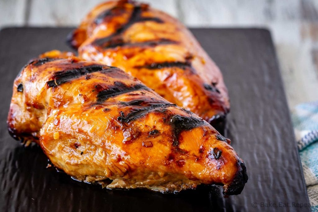 This teriyaki chicken marinade is easy to mix up and adds so much flavour to your chicken. Marinade and then grill or bake, or freeze for later!