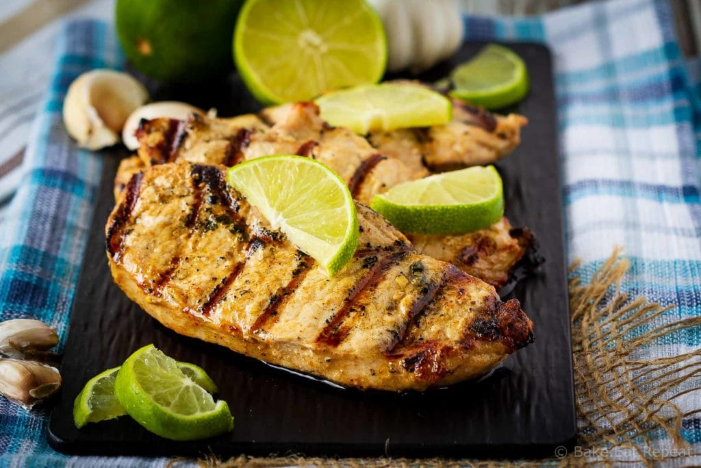 This Mexican pork chop marinade is easy to mix up and adds so much flavour to pork chops. Marinate and then grill, pan fry, or bake, or freeze for later!